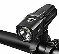 economico -set luci bici 1000 lumen luce bici ultraleggera ultraleggera anteriore per bicicletta torcia a led lampada torcia ricaricabile usb 18650 batteria (colore: 1100 lumen)