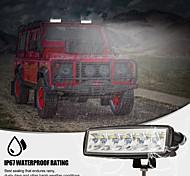 abordables -2pcs LED 6 pouces blanc conduite travail barre lumineuse spot tasse de lumière spéciale haute puissance hors route feux pour camion chariot élévateur tracteur ATV SUV UTV voiture