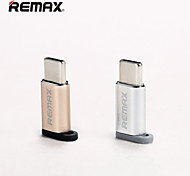 economico -Remax OTG RA-USB1 Micro USB 2.0 a USB 3.0 USB C Hub USB 1 Porti Per Windows, PC, laptop