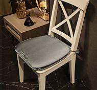 abordables -lumière de luxe de haute qualité glace soie velours couleur unie coussin de siège bureau à domicile chambre usage domestique table à manger chaise coussin
