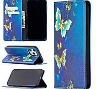 economico -telefono Custodia Per Apple Integrale Custodia in pelle iPhone 12 Pro Max 11 SE 2020 X XR XS Max 8 7 Resistente agli urti Farfalla pelle sintetica