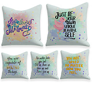 economico -fodera per cuscino 5 pezzi lino morbido decorativo quadrato fodera per cuscino federa federa per divano camera da letto 45 x 45 cm (18 x 18 pollici) qualità superiore lavabile in lavatrice