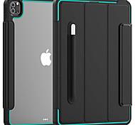 economico -telefono Custodia Per Apple Per retro iPad Air 4 (2020) 10,9 pollici iPad Pro (2018) 11 pollici iPad Pro (2020) 11 pollici Resistente agli urti Tinta unita TPU Acrilico