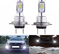 abordables -2 pièces lampe à LED Super brillant SMD3570 voiture feux de brouillard blanc conduite en cours d'exécution LED H1 / H3 / H4 / H7 / H8 / H11 / 9005/9006 ampoules pour automobile automobile