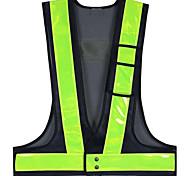 abordables -Gilet Rétro-Réfléchissant Gilet de sécurité Train de roulement Durable Haute visibilité de classe 2 Portable Poids léger pour Course Le jogging Promener le chien Faire de la moto