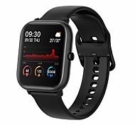 abordables -P20 Unisexe Montre Connectée Bluetooth Moniteur de Fréquence Cardiaque Mesure de la pression sanguine Calories brûlées Contrôle des Fichiers Médias Santé Podomètre Rappel d'Appel Moniteur d'Activit