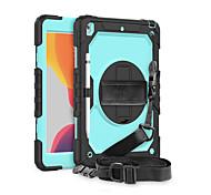 economico -telefono Custodia Per Samsung Galaxy Integrale Samsung Galaxy Tab S7plus / T970 / 975/976 Resistente agli urti Tinta unita Silicone PC