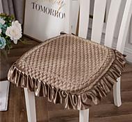 economico -Velluto Dorato Colore Solido Goffratura In Stile Europeo Addensare Cuscino Per Sedia Sedile Per Ufficio A Casa Bar Sedia Da Pranzo Cuscini Per Sedili Cuscino Da Giardino