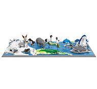 abordables -blocs de construction ensemble de construction jouets 1880 + pingouin renne compatible coque en plastique legoing créatif bricolage éducatif garçons et filles jouet cadeau