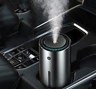 economico -baseus auto umidificatore in lega di alluminio 300 ml con luce a led funzionamento silenzioso per auto armo accessori per l'ufficio domestico umidificatore d'aria per auto 2 colori