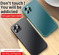 economico -telefono Custodia Per Apple Per retro iPhone 12 Pro Max 11 SE 2020 X XR XS Max Resistente agli urti Colore graduale e sfumato Tinta unita TPU