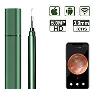 abordables -Caméra auriculaire ios 5.0mp 3.9mm fhd wifi portée d'oreille sans fil iphone oreille portée caméra avec gyroscope 6 axes pour smartphone android ios