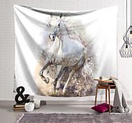 abordables -Tapisserie murale art décor couverture rideau suspendu maison chambre salon décoration polyester cheval motif au galop