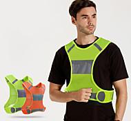 abordables -gilet de course réfléchissant taille ajustable haute visibilité& brassards équipement de sécurité parfait pour le cyclisme jogging chien marche motocyclisme auto-stop léger pour hommes femmes&