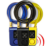 abordables -antivol antivol antivol antivol antivol 115db vélo vélo moto serrure de sécurité avec câble en acier mot de passe sans clé ou télécommande pour verrouiller / déverrouiller ip55 pour intérieur&