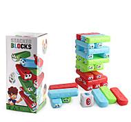 abordables -Jenga blocs de dessin en cascade jouet interactif parent-enfant éducatif pour enfants
