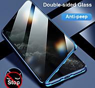 economico -telefono Custodia Per Apple Integrale Custodia flip iPhone 12 Pro Max 11 SE 2020 X XR XS Max 8 7 6 Resistente agli urti Con chiusura magnetica Transparente Transparente Vetro temperato Metallo