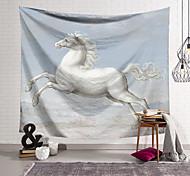 abordables -Tapisserie murale art décor couverture rideau suspendu maison chambre salon décoration cheval au galop
