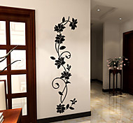 abordables -Arabesque Stickers Muraux Salon, PVC Amovible Décoration d'intérieur Stickers muraux