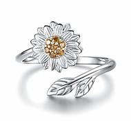 economico -anello crematorio girasole - gioielli regolabili in argento sterling 925 tu sei la mia margherita del sole
