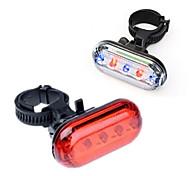 abordables -Benran Bike 5 LED feu arrière haute intensité multi-usage résistant à l'eau rétro-éclairage pour le cyclisme (laser chauve-souris)
