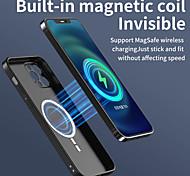 economico -telefono Custodia Per Apple Per retro iPhone 12 Pro Max 11 SE 2020 X XR XS Max Resistente agli urti Custodia per ricevitore di ricarica wireless Tinta unica TPU
