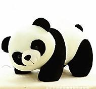 abordables -Panda doll doll animal en peluche pour bébé zhaozb (couleur: noir et blanc)