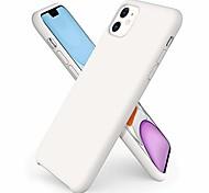 economico -compatibile con custodia in silicone per iphone 11, custodia protettiva per telefono in silicone liquido ultra sottile per iphone 11 (2019) da 6,1 pollici