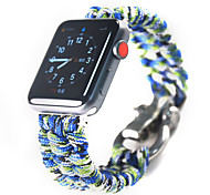 economico -Cinturino intelligente per Apple  iWatch 1 pcs Cinturino sportivo Nylon Sostituzione Custodia con cinturino a strappo per Apple Watch Serie 6 / SE / 5/4 44 mm Apple Watch Serie 6 / SE / 5/4 40mm
