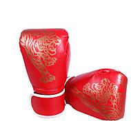 abordables -Gants du sport Gants de Boxe Pro Gants de Boxe d'Entraînement Pour Aptitude Boxe Muay Thai Doigt complet Ajustable Poids Léger Ecran Solaire PU Noir Rouge Bleu