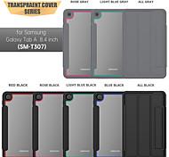 economico -telefono Custodia Per Samsung Galaxy Per retro Samsung Galaxy Tab A7 2020 T500 / 505 Resistente agli urti Tinta unita TPU Acrilico
