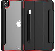 economico -telefono Custodia Per Apple Per retro iPad 8 (2020) 10.2 '' iPad 7 (2019) 10,2 pollici Resistente agli urti Tinta unita TPU Acrilico