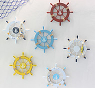 economico -decorazione della parete dell'ornamento del timone della nave mediterranea decorazione in legno del timoniere