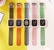 economico -Cinturino intelligente per Apple  iWatch 1 pcs Cinturino sportivo TPE Sostituzione Custodia con cinturino a strappo per Apple Watch Serie 6 / SE / 5/4 44 mm Apple Watch Serie 6 / SE / 5/4 40mm Apple