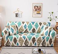 abordables -diamant check housse de canapé 1 pièce housse de canapé protecteur de meubles housse extensible douce tissu jacquard spandex super fit pour canapé 1 ~ 4 coussin et canapé en forme de l, facile à