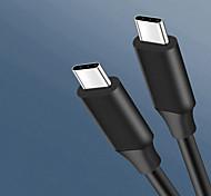 economico -USB C Cavi Alta velocità Trasmissione dati Caricatore del telefono 5 A 1.0m (3 piedi) ABS + PC Per Xiaomi MI Samsung Xiaomi Appendini per cellulare