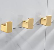 economico -porta accappatoio nuovo design alluminio per cucina e bagno dorato 3 o 5 pz