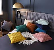 economico -1 pz fodera per cuscino decorativo federa fodera per cuscino in pelle scamosciata tinta unita croce per divano letto divano 18 * 18 pollici 45 * 45 cm