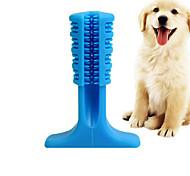 economico -Giochi morbidi Tubo Spazzolini da denti Spazzola per pulizia Giocattolo per cani Roditori Prodotti per cani Prodotti per gatti Prodotti per roditori Cagnolino 1 pc Adatto agli animali Portatile
