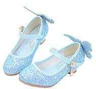 abordables -Fille Chaussures à Talons Chaussures de princesse Polyuréthane Petits enfants (4-7 ans) Grands enfants (7 ans et +) Soirée & Evénement Marche Blanche Bleu Rose Printemps Eté
