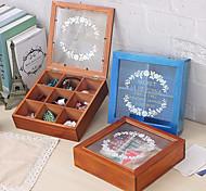 economico -scatola retrò scatola di carta di gioielli scatola di carta scatola di legno scatola di immagazzinaggio scatola di grande capacità scatola di maschera scatola piccola.