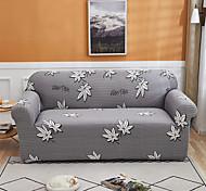 abordables -feuilles d'érable housse de canapé 1 pièce housse de canapé protecteur de meubles housse extensible douce tissu jacquard spandex super fit pour canapé 1 ~ 4 coussin et canapé en forme de l, facile à