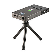 economico -c2 android 7.1 mini proiettore 2.4g 5.8g wifi bluetooth proiettore portatile led dlp beamer home cinema supporto airplay miracast