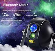 abordables -Télécommande avec haut-parleur de musique Bluetooth Projecteur de lumière laser Projecteur LED rotatif Plusieurs Couleurs Mariage Soirée Cadeau Lumière du projecteur