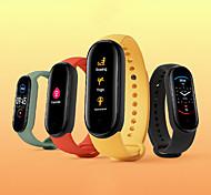 abordables -Xiaomi Mi Band 5 Montre intelligente avec bracelet pour Android iOS Samsung Apple Xiaomi Bluetooth Imperméable Moniteur de Fréquence Cardiaque Sportif Longue Veille Elégant Minuterie Podomètre Rappel