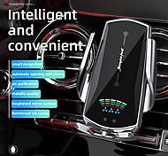economico -caricabatteria per auto senza fili ricarica qi supporto automatico del telefono per auto presa d'aria supporto per telefono combo con purificatore d'aria supporto di carica veloce per iphone 12 xr xs