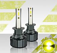 abordables -OTOLAMPARA Automatique LED Lampe Frontale H1 / 880 Ampoules électriques 3500 lm LED Haute Performance 35 W 2 Pour Universel Tous les modèles Toutes les Années