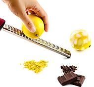 abordables -fromage chocolat citron râpe zesteur de fruits tranchant durable grattoir ensemble d'outils de cuisine en acier inoxydable