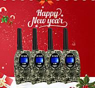 abordables -Talkie walkie Portable Radio FM Radio bidirectionnelle <1,5 km <1,5 km 0.5 W