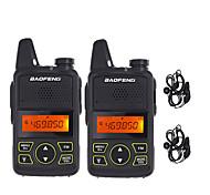 abordables -BAOFENG Talkie walkie Portable Radio FM Radio bidirectionnelle 3 - 5 km 3 - 5 km 5 W
